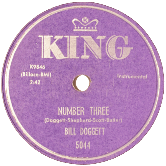 Bill Doggett, Number Three