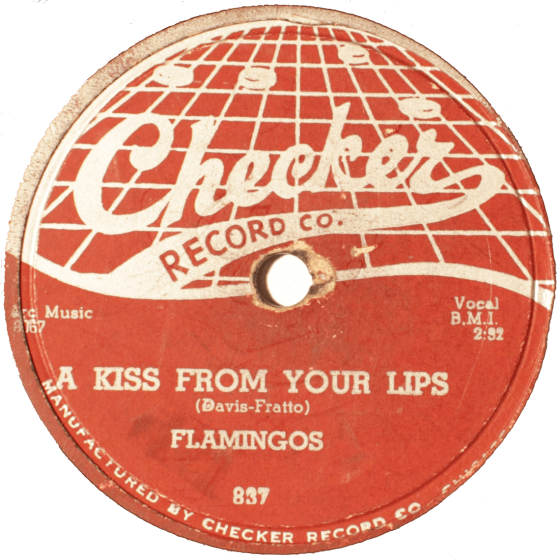 Flamingos, A Kiss From Your Lips, Checker, 837